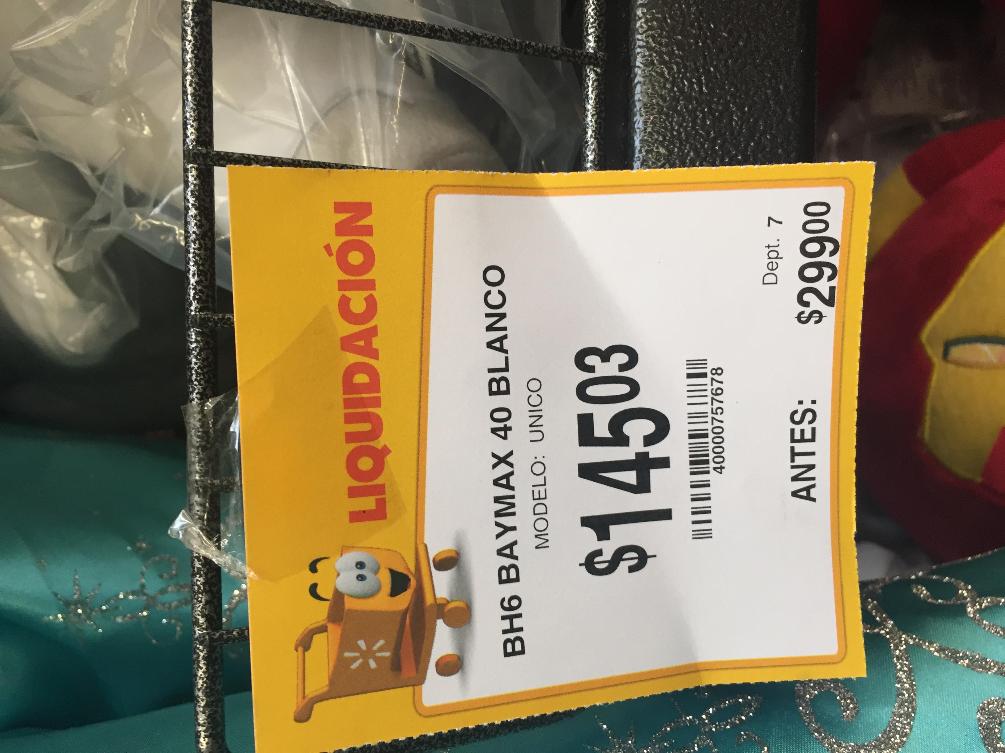 Liquidación juguetes Walmart