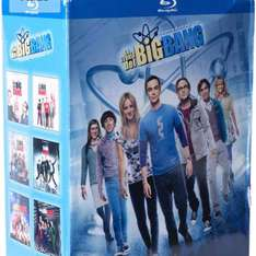 Amazon MX: La Teoría del Big Bang, Temporadas 1-6 [Blu-ray]