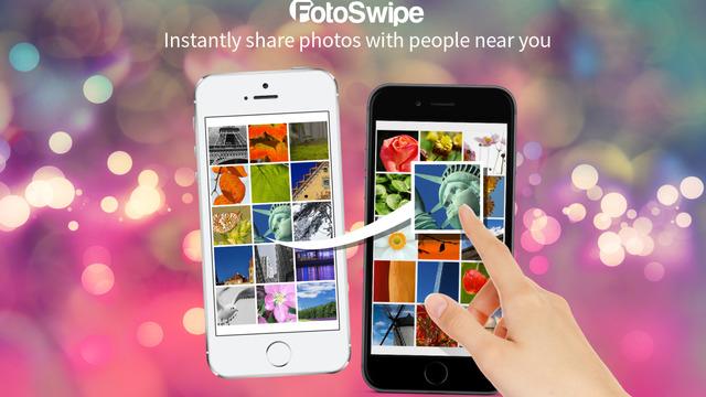 App Store: FotoSwipe transfiere imagenes deslizando de una pantalla a otra
