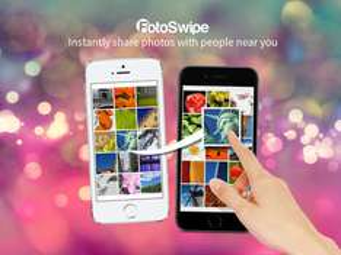 App para Compartir Imágenes entre Dispositivos FOTOSWIPE para iOS y Android como descarga GRATUITA en iTunes y Google Play.
