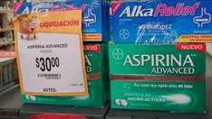 Walmart Domingo 10: Alka Seltzer Relief y Aspirina Advanced, ambos por $30