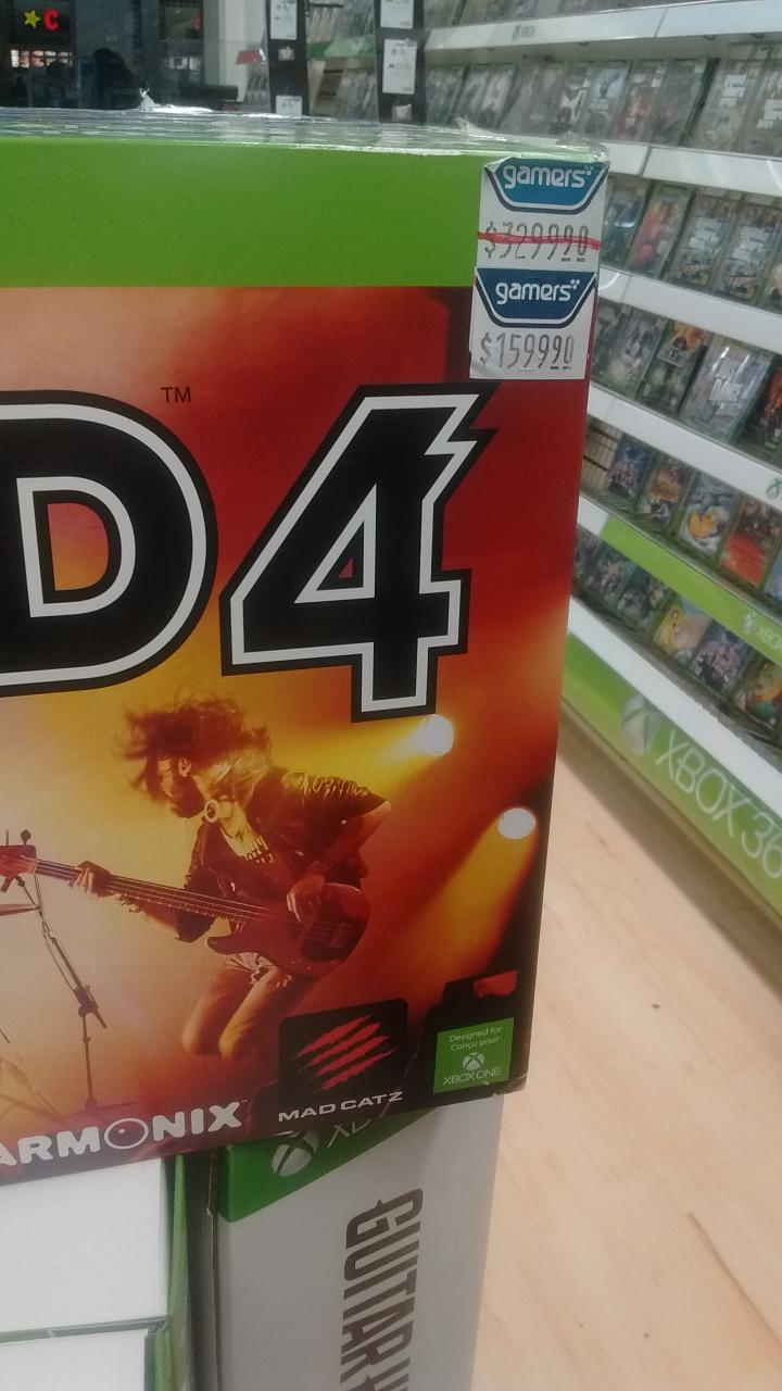 Gamers: Rockband 4 para xbox one 1599.90