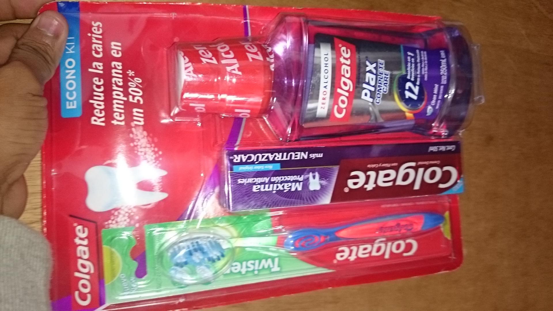 Chedraui: paquete limpieza bucal $8.10