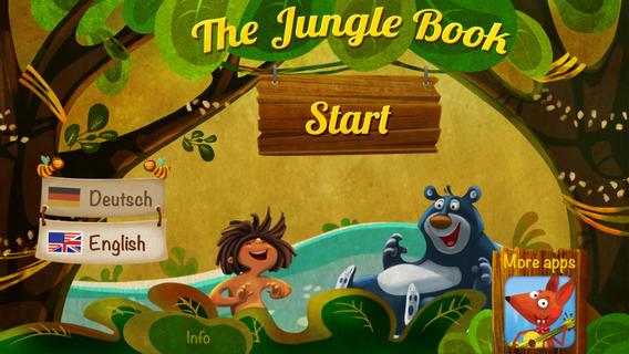 APP STORE: el libro de la selva en inglés para niños, de $19  Gratis tiempo limitado y más