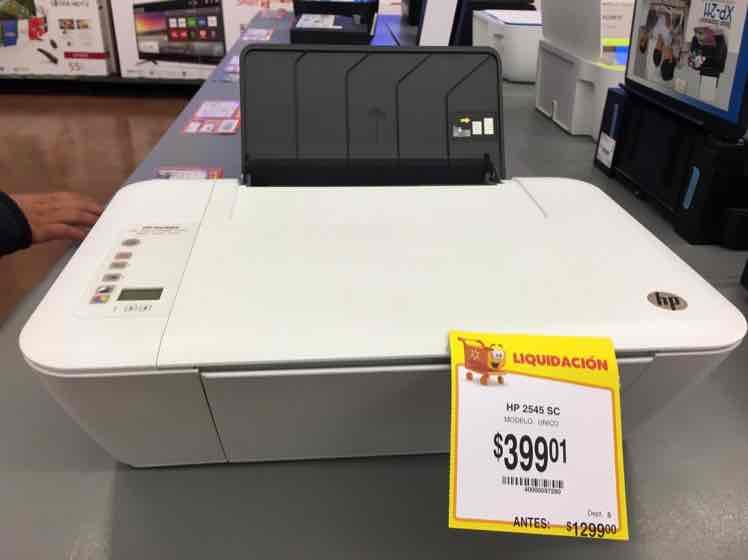 Walmart Gran Patio: Impresora HP 2545 multifuncional