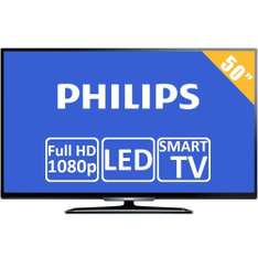 Walmart: TV Philips 50 Pulgadas Full HD Smart TV LED  Mod.  50PFL4909/F8