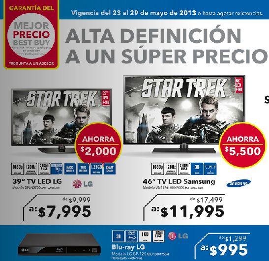 Best Buy: blu-ray LG $995, cámara acuática $1.975 y más