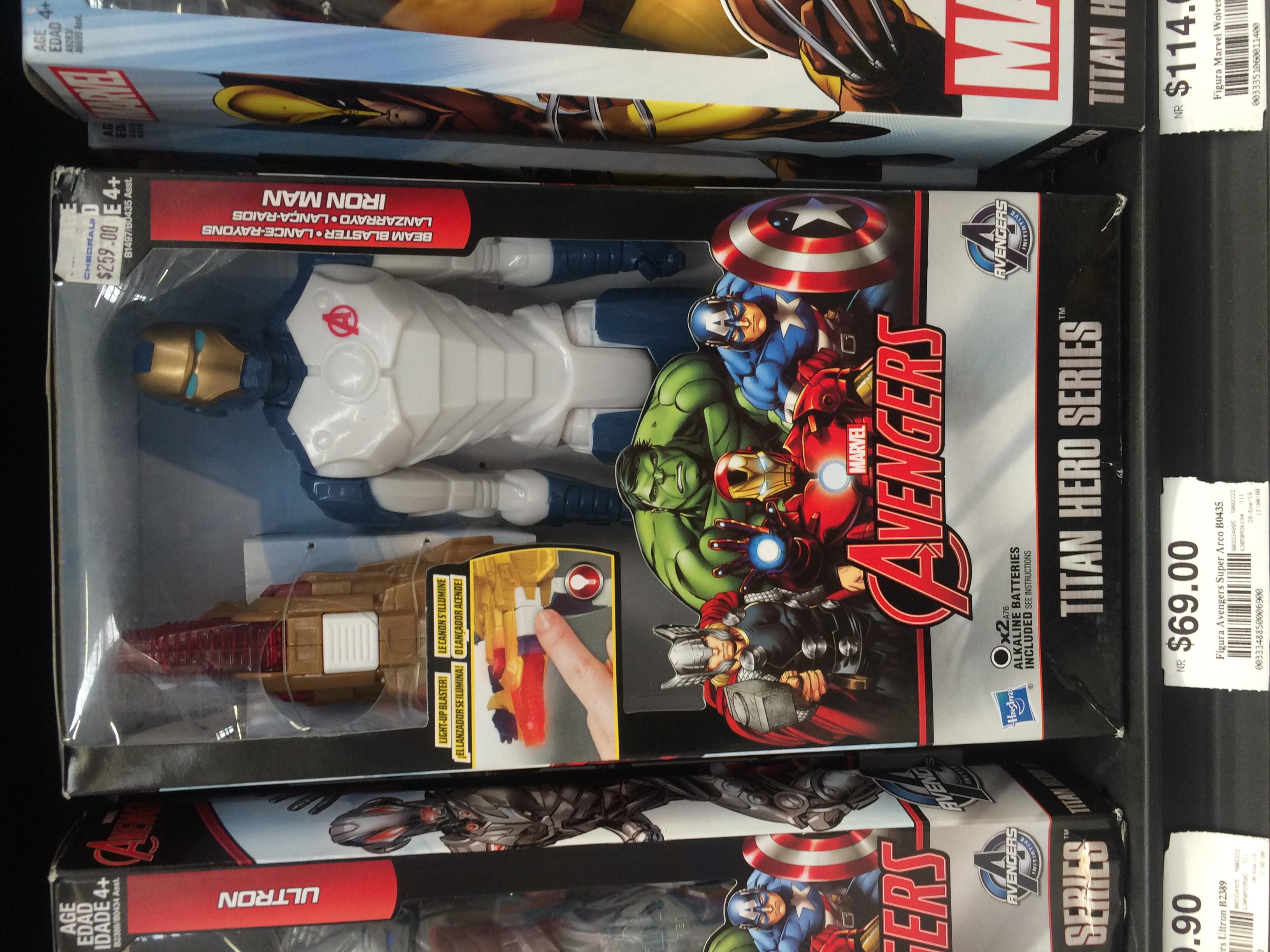 Iron Man Lanzarrayo de $259 a $69 Chedraui