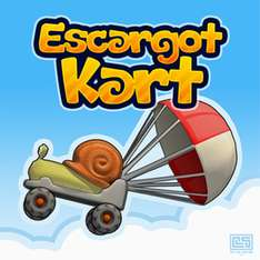 Juego ESCARGOT KART para iOS y Android, GRATIS por 48 horas en iTunes y Google Play.