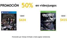 Teragu.com: Call of Duty Ghosts Xbox One $415, Battlefield 4 PS4 $400, Xbox 360 $250 y más