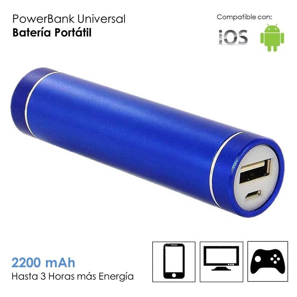 Walmart: Batería Portátil HG Global Recargable 2200 mAh Azul por tan solo $169