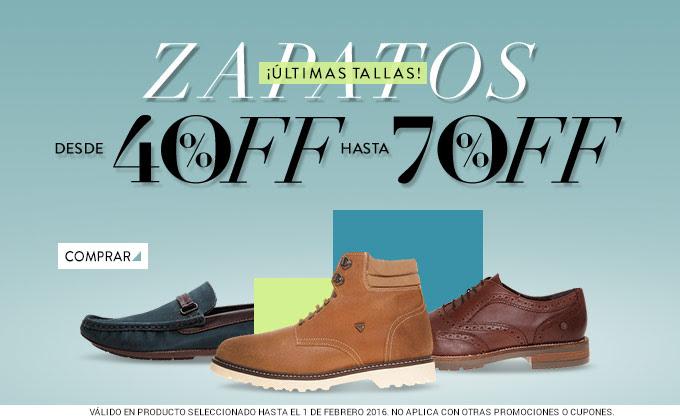 Dafiti: hasta 70% de descuento en calzado seleccionado