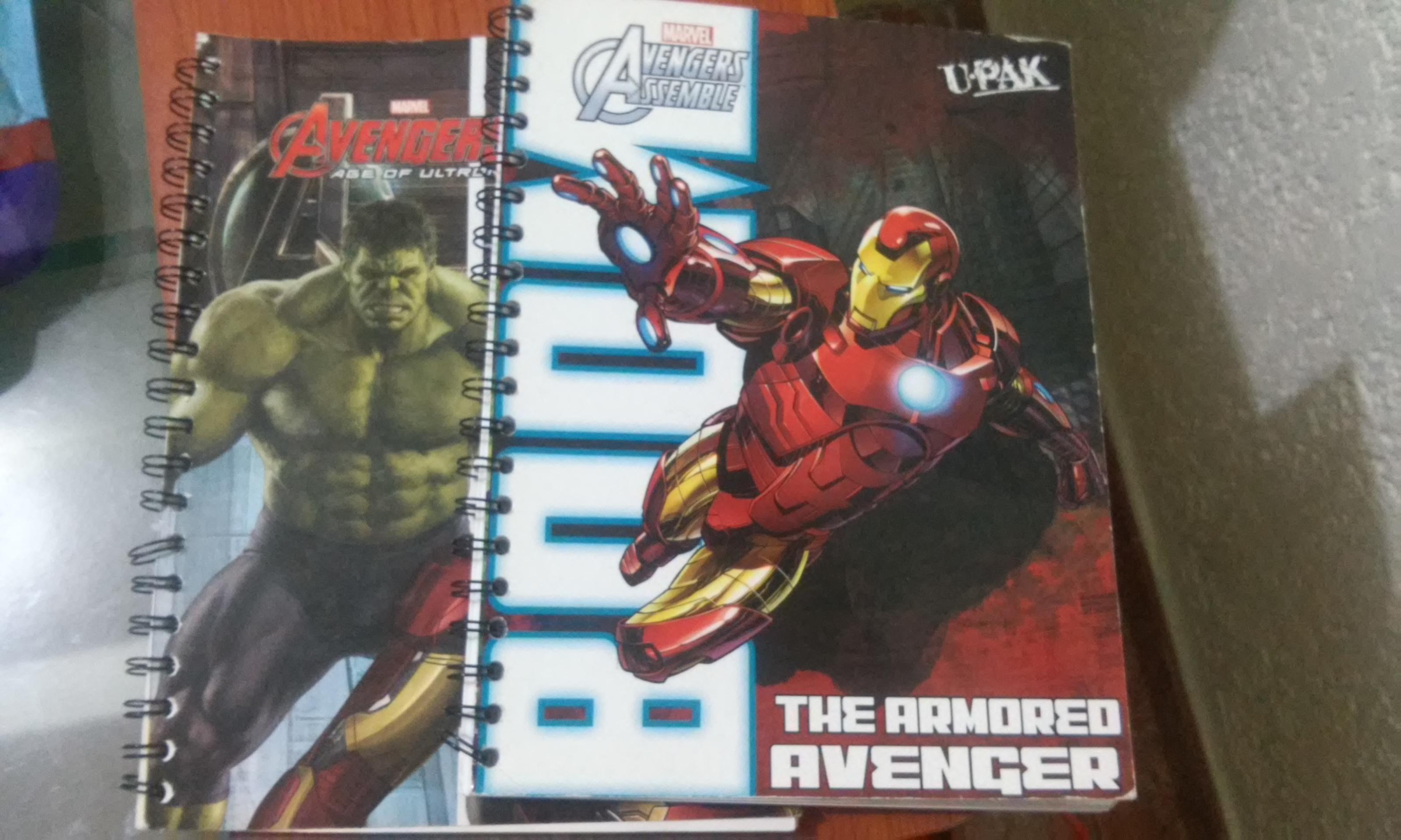 Walmart: Cuaderno Avengers $7.02