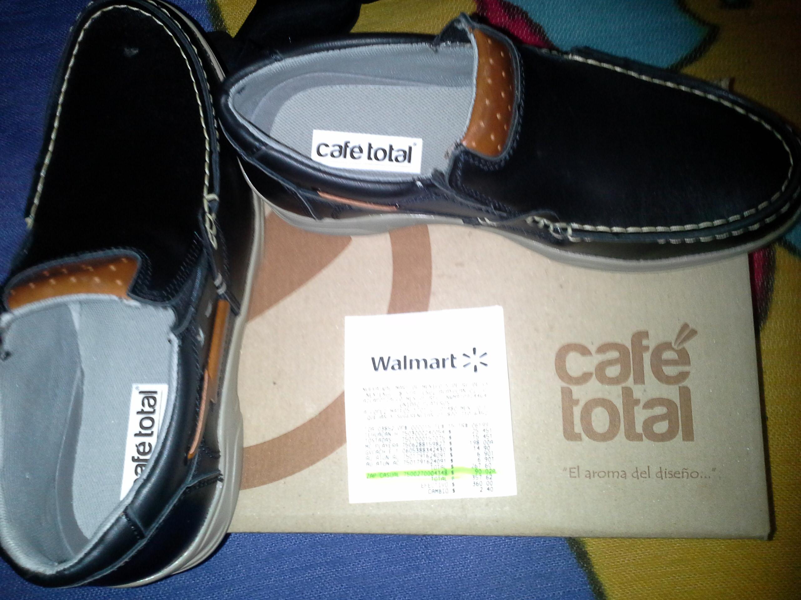 Walmart: Zapatos marca Café Total a $90.02
