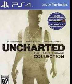 Amazon USA: UNCHARTED The Nathan Drake Collection PS4 a $537