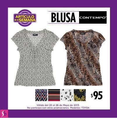 Artículo de la semana en Suburbia mayo 20: blusa $95