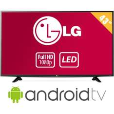 "Walmart: TV LG 43"" Full HD LED mas Android Smart TV"