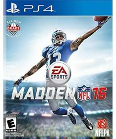 Game Planet: Madden 16 para PS4 a $499