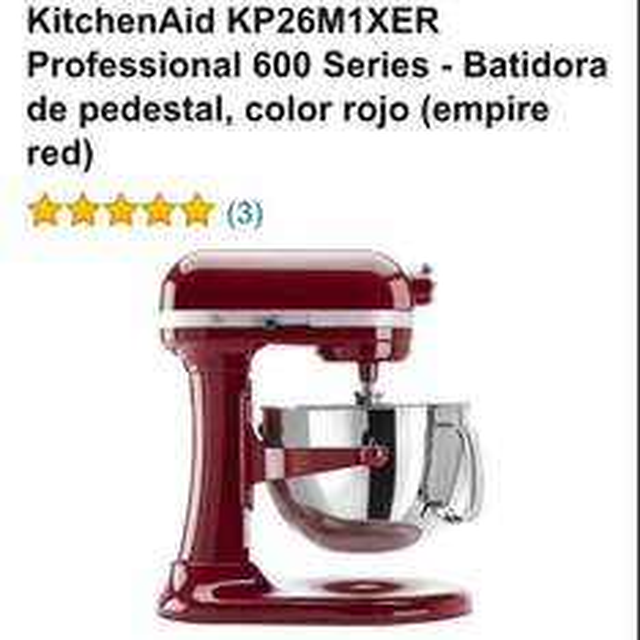Amazon: Batidora profesional KitchenAid a $7,000