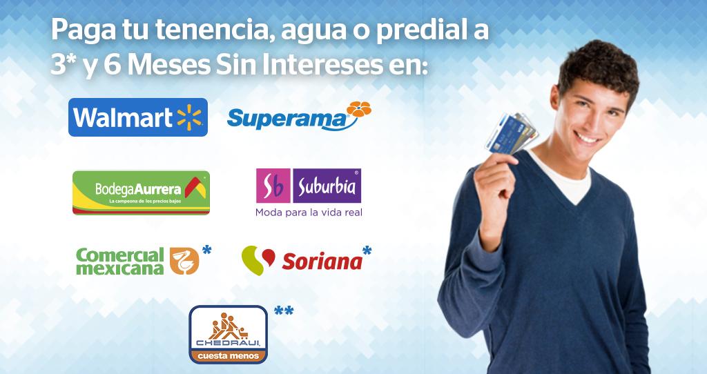 Bancomer: meses sin intereses en tenencia, agua o predial (DF y Edo de Mex)