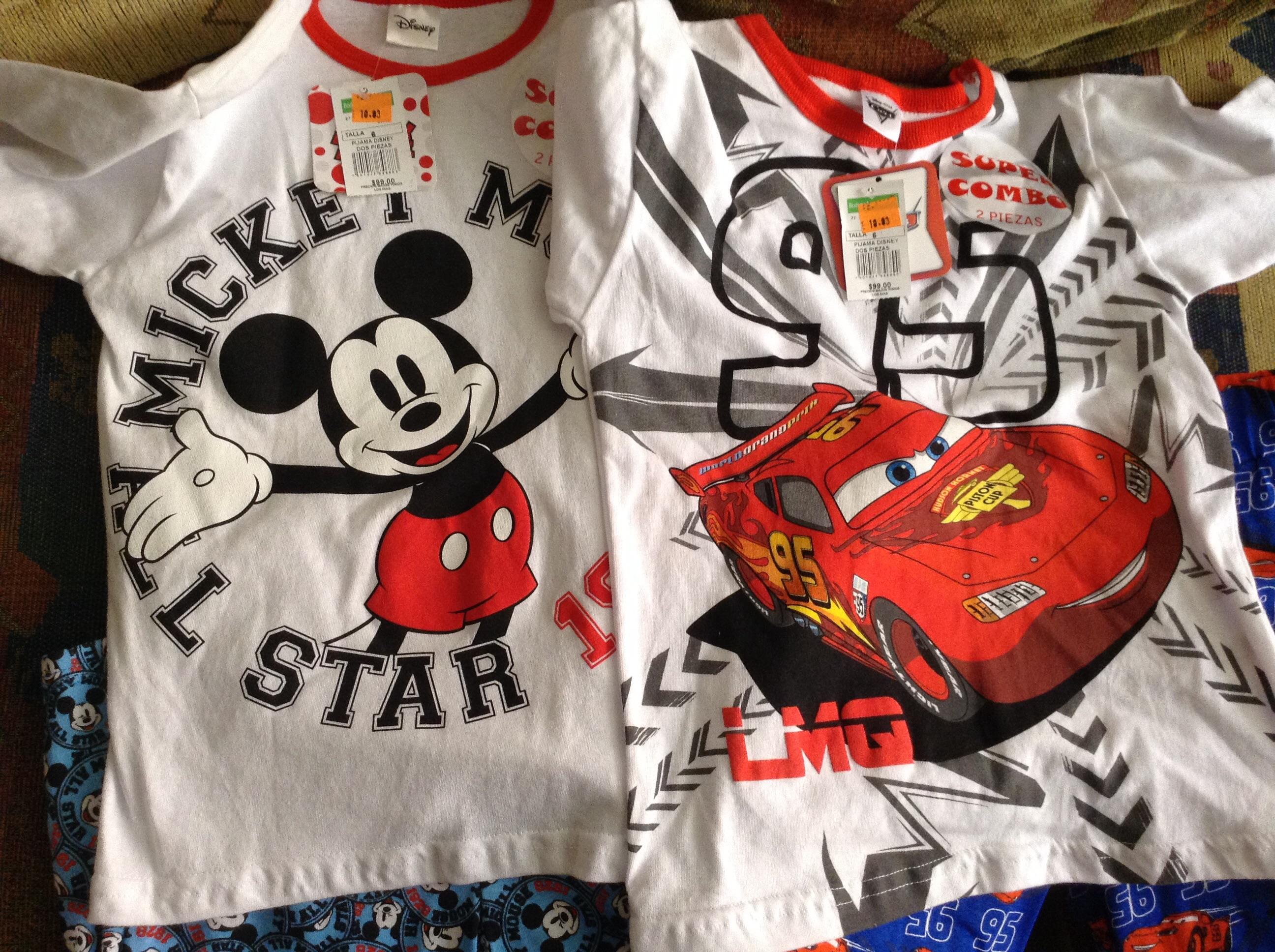 Bodega Aurrerá: Pijamas Disney y Cars en $10.03