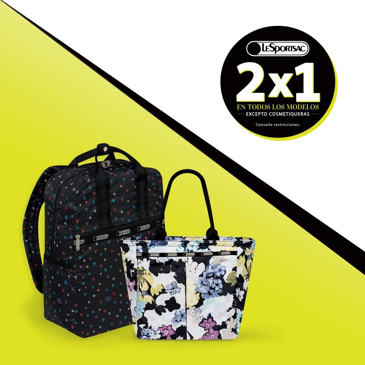 LesportSac: 2x1 en todas las bolsas