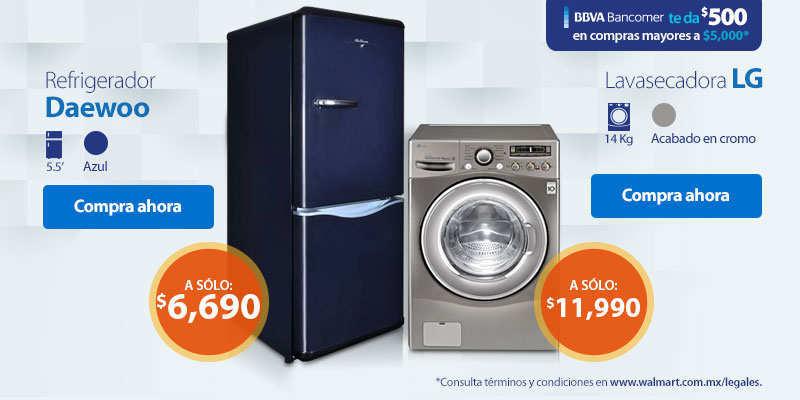 Walmart: $500 de descuento en compras de $5,000 o más con TC Bancomer