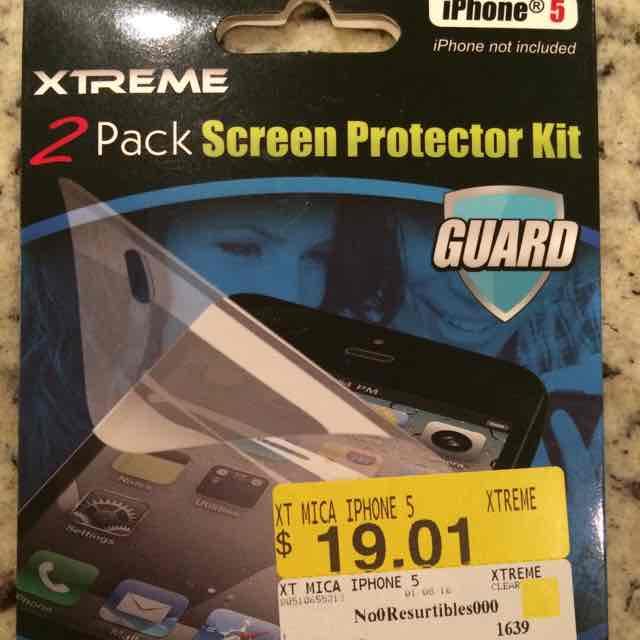 Walmart: Mica para iPhone 5 a $19.01