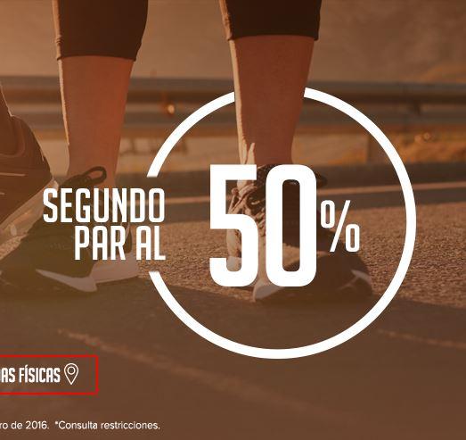 Innova Sport: 50% de Descuento en el segundo par de tenis