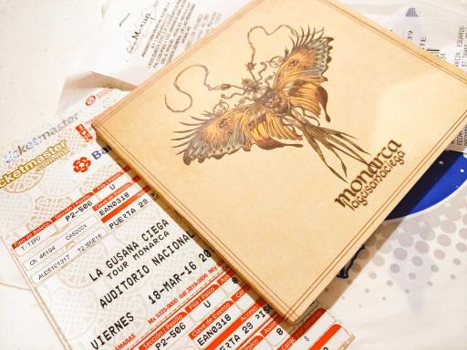 Mixup: boletos gratis para el concierto de la gusana ciega en la compra de su disco