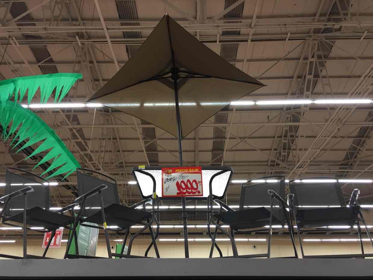 Walmart: Juego de jardín 6 piezas