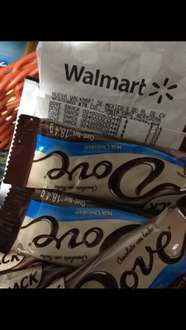 Walmart Plaza Oriente: Dove Snack Chocolate Bar 19g a $3.03