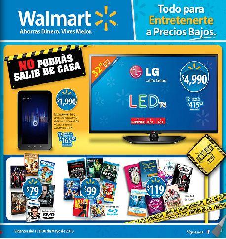 Folleto Walmart del 13 al 30 de mayo 2013