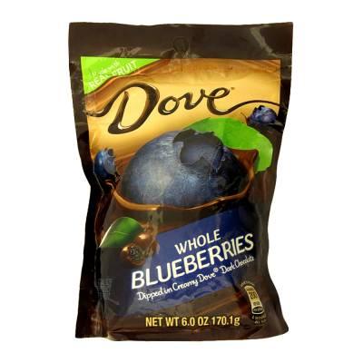 Superama en línea: Moras Dove cubiertas con chocolate 170g a $25 precio normal $43