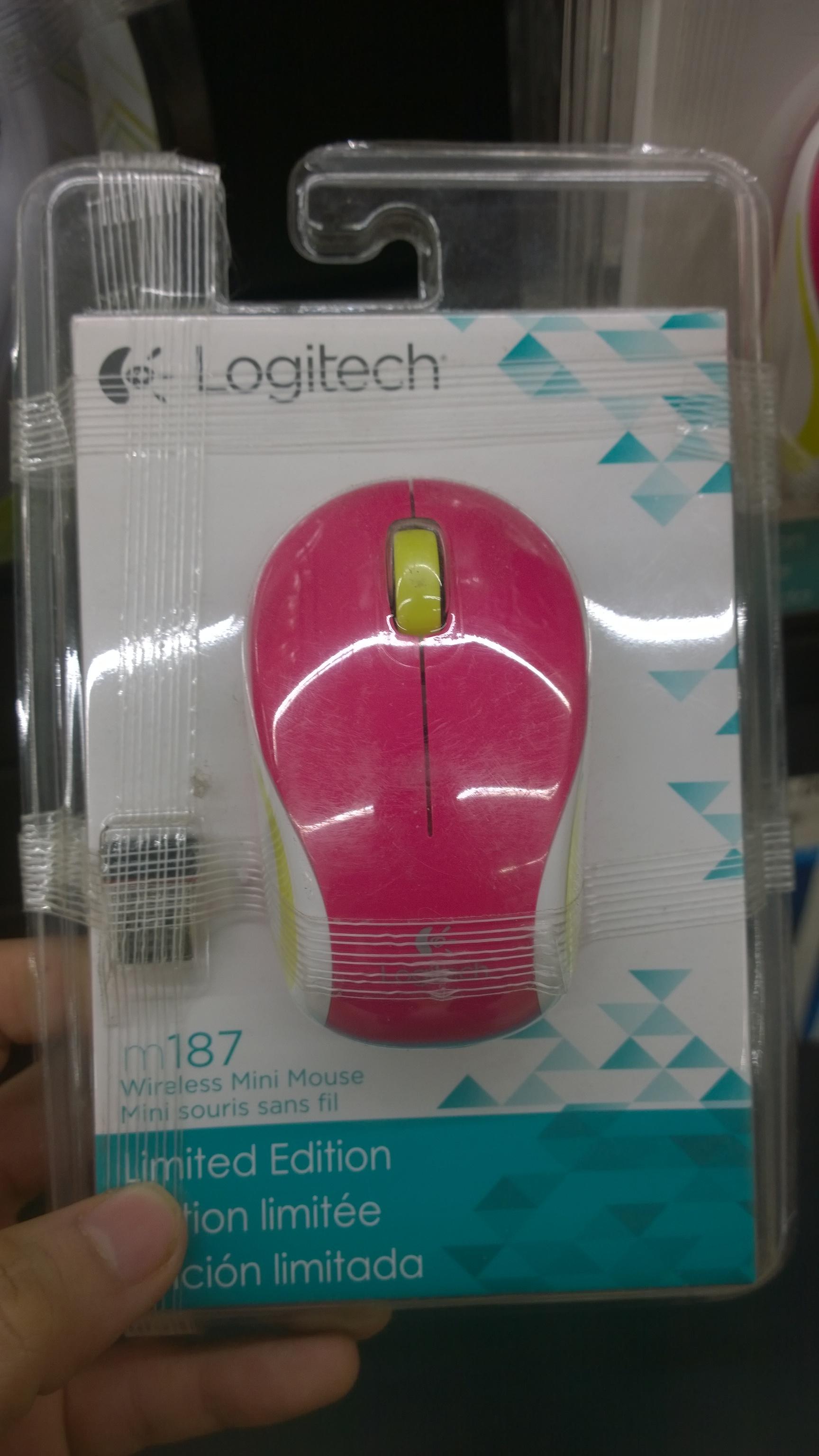 Chedraui: mouse inalambrico Logitech a$85
