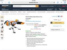 Amazon MX: Nerf N-Strike Elite Rhino-Fire Lanzador a $499