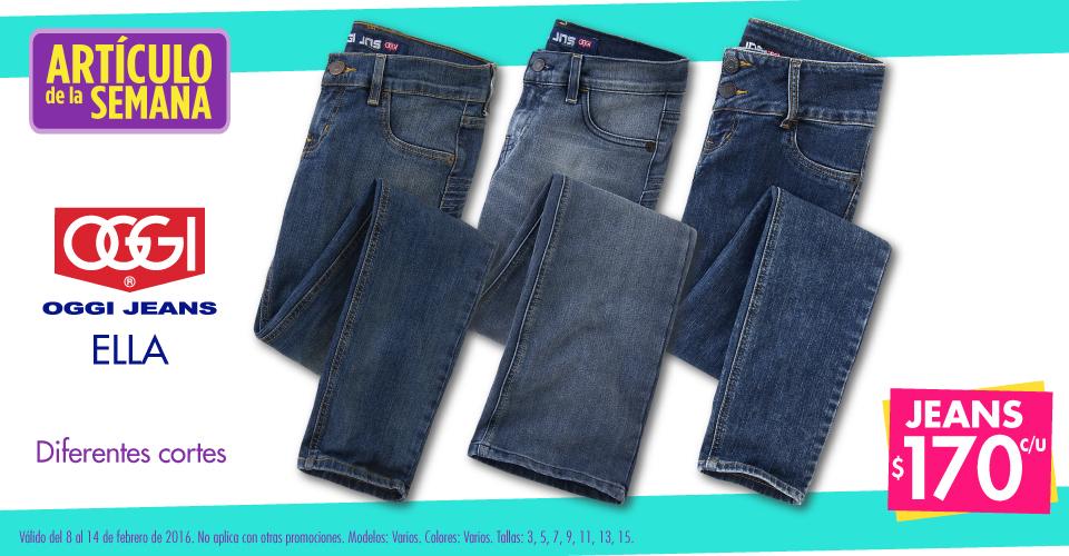 Suburbia: Articulo de la semana OGGI jeans para dama a $170
