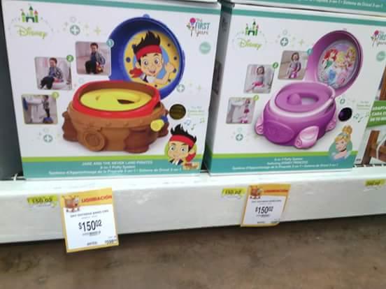 Walmart: entrenador de baño para bebé a $150