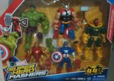 Chedraui: Super hero Mashers avenger pack a $490