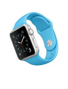 Amazon MX: Apple iWatch Reloj Inteligente, 38 mm Azul y Rosa con CUPON VISA a $5,129