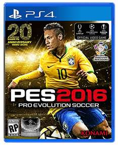 Amazon MX: PES 2016 para PlayStation 4 a $539.40