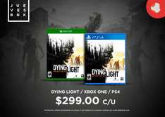 Bnkshop: Dying Light para Xbox One o PS4 a $299