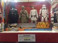 Sam's Club: 4 figuras de Star Wars de 50cm por $399