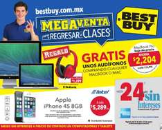 Folleto de ofertas en Best Buy del 31 de julio al 6 de agosto