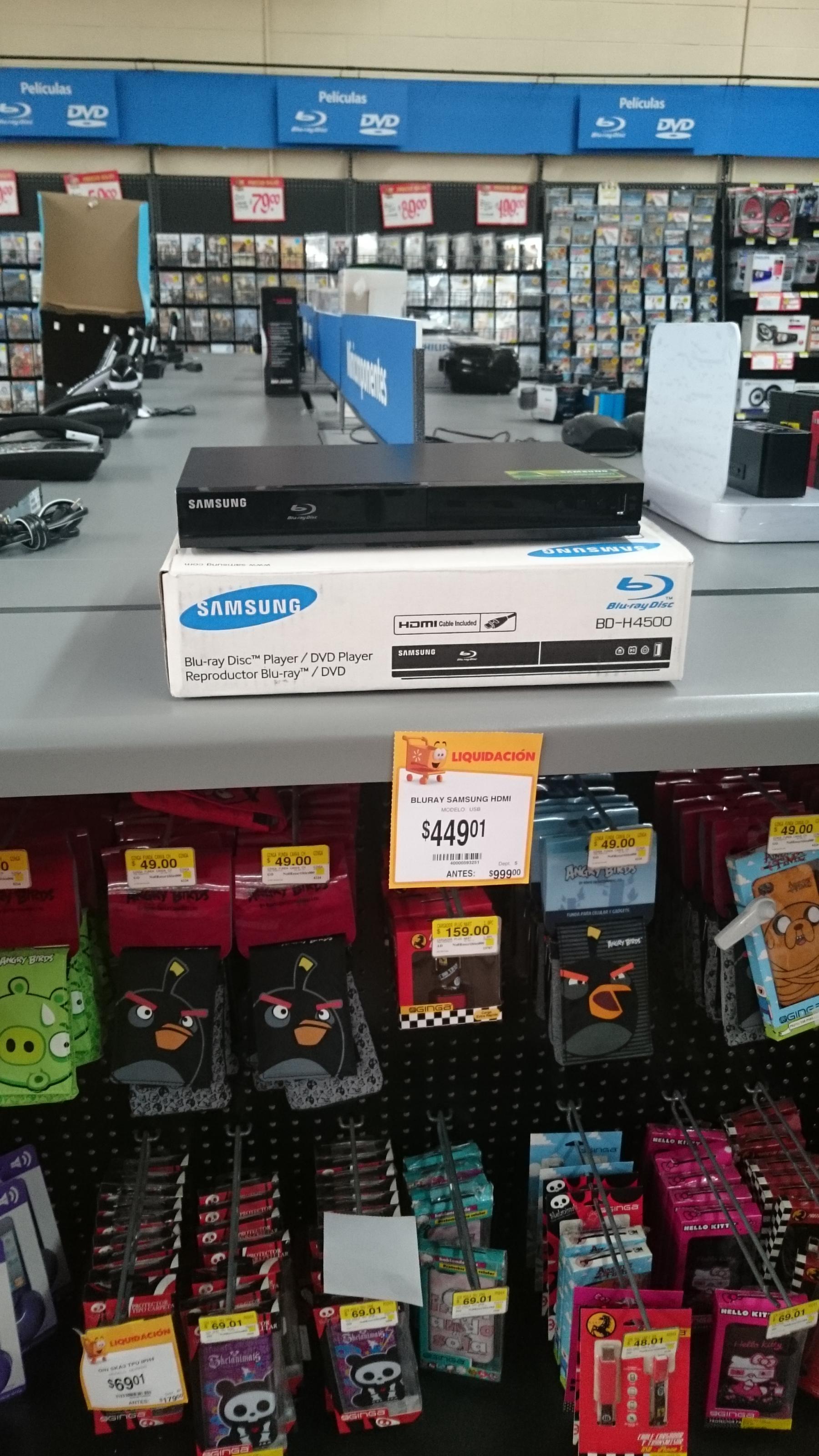 Walmart 15 de Mayo, Puebla: Bluray Samsung 499.01 y más