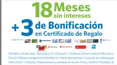 Sam's Club: 18 Msi + 3 de bonificación en monedero