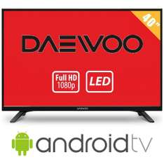 Walmart: TV Daewoo 40″ HDTV LED mas Android Smart TV a $6,699