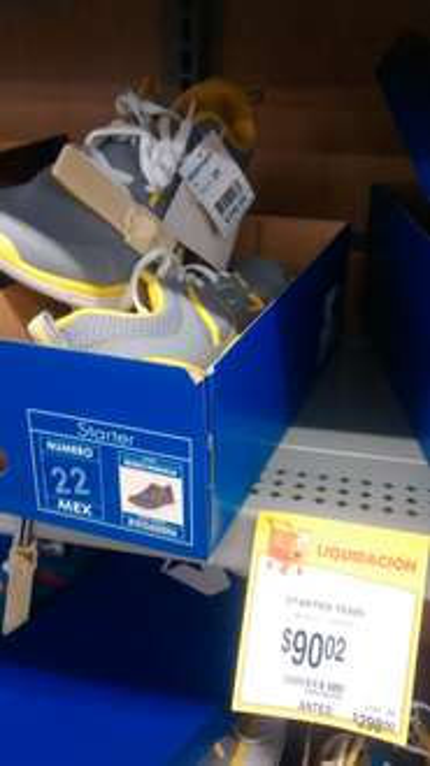 Walmart: Tenis starter a $90.02