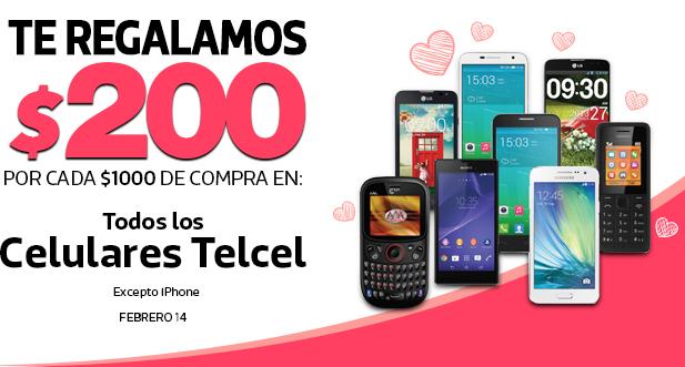 Comercial Mexicana: $200 de descuento por cada $1,000 en celulares Telcel y -$20 x cada $100 en dulces