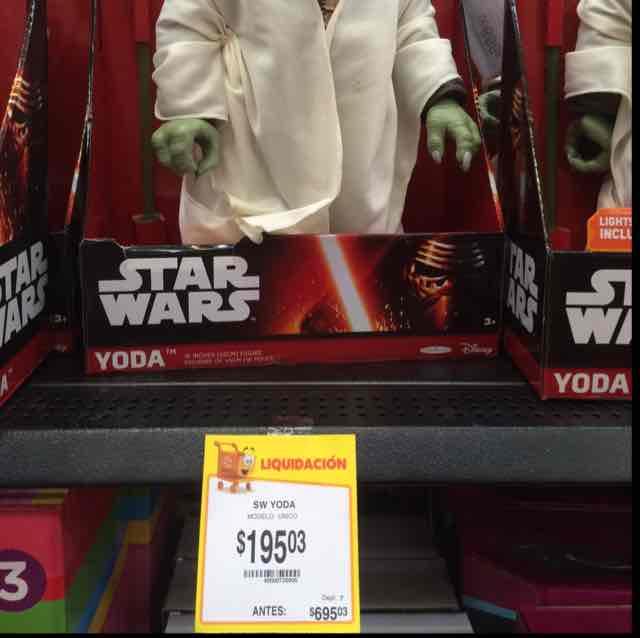 Walmart: Yoda Star Wars a $195.03